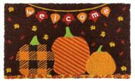 Welcome Pumpkins Coir Doormat (Case Pack - 4)