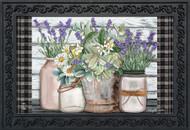 Farmhouse Flowers Doormat