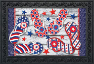 Freedom Flip Flops Doormat