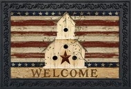 Americana Welcome Doormat