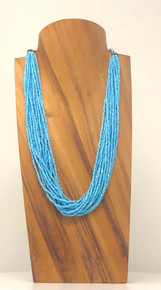 "Elite Natural 12"" Necklace display W/Neck"
