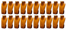 """12"""" Natural Necklace Displays -Special set 20 Pc Free Shipping to 48 states"""