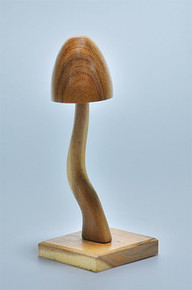 Elite Natural Mushroom W/Stem Bracelet Display