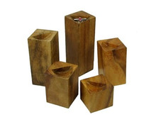 Elite Natural Ring Block Set