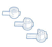 "PCC2000 Jet Nozzle Inserts (1/8"", 1/4"", 3/8"")"