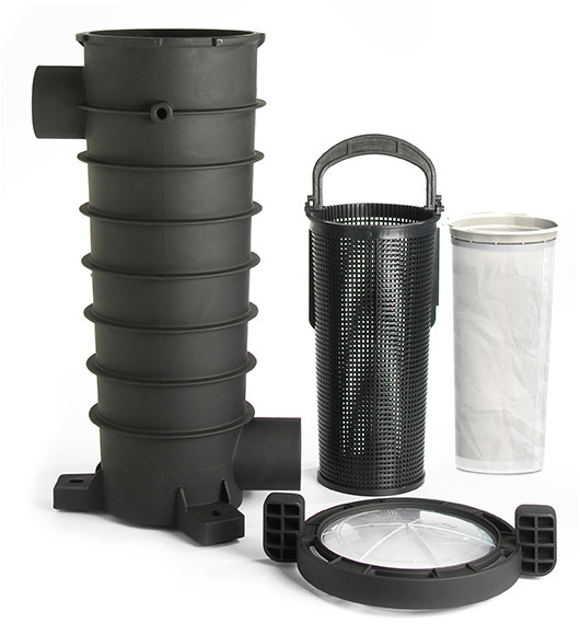 Paramount Equipment Side Debris Canister (EDC) - Canister, Basket, Lid, & Bag