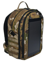 The Bugout Solar Backpack, OCP Camo
