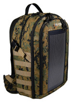 The Bugout Solar Backpack, front