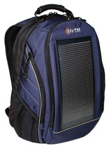 The Eclipse Solar Backpack, Blue/Gray