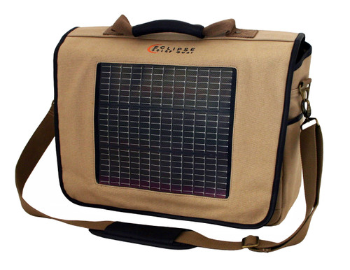 The Fusion Solar Messenger Bag, Canvas