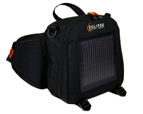 The Eclipse Solar Fanny Pack, black