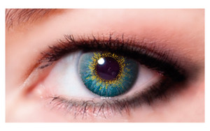 Color Contact Lenses-Turquoise