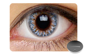 Color Contact Lenses-Dajavu Sky Blue