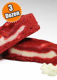 Red Velvet Cookie STUFT with Cheesecake – Three (3) Dozen