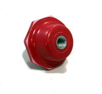 "1-1/2"" MOULDED POLYESTER FIBERGLASS INSULATOR 1/4-20"