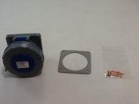 30A 2P 3W 250V IEC309 WATERTIGHT PIN & SLEEVE RECEPTACLE