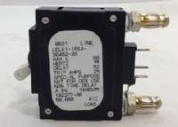 LELK11RS43045220 20 AMP CIRCUIT BREAKER WHITE HANDLE 3-PIN W/STRAP