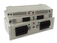 "PWX-031FXCSD10PWDP  100A FRONT ACCESS DUAL FEED 10/10 GMT FUSE PANEL 23"" 2RU PW ±24/48Vdc"