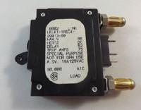 LELK11REC42981360 CIRCUIT BREAKER 60 AMP BULLET BLACK HANDLE 3 PIN UNEVEN