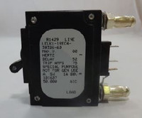 LELK11REC43032660 CIRCUIT BREAKER 60 AMP BULLET BLACK HANDLE 3 PIN W/ STRAP