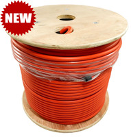 LMR®-400-LLPL Type Plenum Low Loss Coax Cable 500' REEL - ORANGE JACKET - LOW400PORD