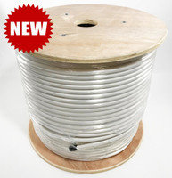 LMR®-400P Type Plenum Low Loss Coax Cable by the Foot - WHITE JACKET - LOW400PWHD