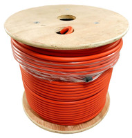 LMR®-400-LLPL Type Plenum Low Loss Coax Cable by the Foot - ORANGE JACKET - LOW400POR