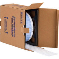 IP Series PermaSleeve Polyolefin Wire Marking Sleeves  SINGLE-SIDED, 2500 sleeves per roll; 16-8 wire gage