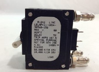 150 Amp Circuit Breaker 2-Pole Bullet White Handle 3-Pin w/Strap