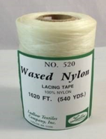 LUDLOW520  - 520  LACING TAPE WAXED NYLON 540 YDS