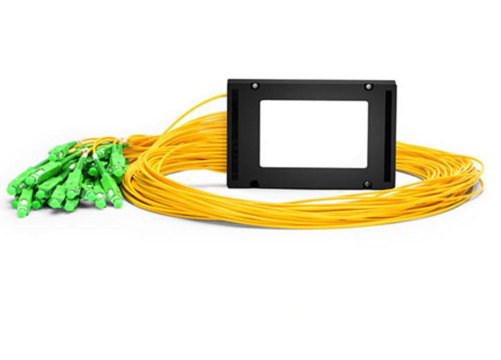 1×32 Fiber PLC Splitter, ABS Box Type, Singlemode, SC/APC -  PLC-ABS-1X32SCA01M5