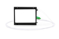 1x8 PLC Fiber Splitter, Splice/Pigtailed ABS Module, 900um, SC/APC, Singlemode