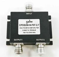 2 Way N Female RF Coax Power Divider, Splitter, Combiner