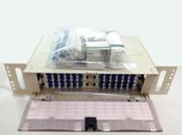 FPX3FRA081440 - 3RU FPX TERM / SPLICE PANEL W/ 72 SM LCU PORTS LEFT & 72 SM - TYCO ELECTRONICS / TE CONNECTIVITY