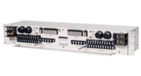 """Fuse Panel:  Dual, 4/10, TPC/GMT, 350A, +/-24,-48VDC, Stnd Alrm, 23"""", Blk, 2RU"""