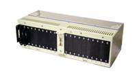 Fuse Panel, Dbl, 6, Comp, Rear Output, Wht, HC Fuse/Brkr, 3RU