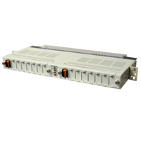 Configurable Low Current CB Panel: 100A, 7/7 CB, 20A, Alarm, +/-24,-48VDC, 1RU
