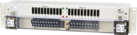 100A Max, Dual 10/10 20A GMT, Stud/Screw, Front CVR, Universal VDC, Bay Alarm, 2RU, Universal Mount, TFA