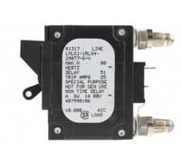 407998186 20 AMP CIRCUIT BREAKER BULLET BLACK HANDLE 2-PIN W/STRAP (LMLK1-1RLS4-29877-6)
