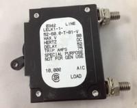 50 AMP CKT BREAKER BOLT IN BLACK HANDLE NO PIN (LELK1-1-52-60.0-T-01-V)