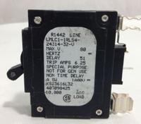 LMLC1-1RLS4-24314-32  5 AMP CKT BREAKER CLIP IN BLACK HANDLE 1 PIN W/ STRAP