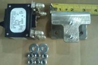 CC109141735 150 AMP CIRCUIT BREAKER KIT 2-POLE BULLET BLACK HANDLE WITH HARDWARE