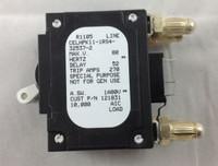 CELHPK11-1RS4-325372  200 AMP CIRCUIT BREAKER 2 POLE BULLET WHITE HANDLE W/ STRAP