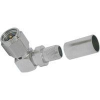 TC-240-SM-RA-SS-X SMA MALE RIGHT ANGLE CONNECTOR FOR LMR-240