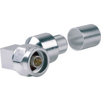 EZ-600-NMH-RA-X N Male Right Angle Crimp Connector for LMR600