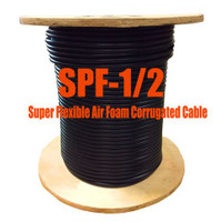 "1/2"" Super Flexible 50 Ohm Coax Cable - 1000' (Compare to Commscope FSJ4-50B)"