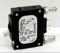 LELK1-1RS4-30452-50 50 AMP BREAKER Bullet, White handle, 2 pins w/strap