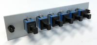 LCX 6 FIBER SCU SIMPLEX SM OS2 PUTTY Fiber Adapter Plate - 055-0000-6010
