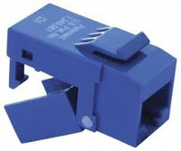 Platinum Tools 706BL-1 EZ-SnapJack Cat6, Blue.