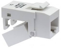 Platinum Tools 705LA-4C EZ-SnapJack Cat5e, Lt. Almond.  4/Clamshell.